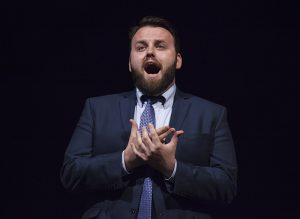 "Baritone Jake Skipworth sings ""O Carlo, ascolta... Io morrò"" from ""Don Carlo"" by Verdi on June 20, 2016, at Norton Hall. Skipworth is one of the Studio Artists in the Chautauqua Opera Young Artists class of 2016. Skipworth performed as The Sergeant in the Chautauqua Voice Institute's production of ""La Boheme"" in 2015."