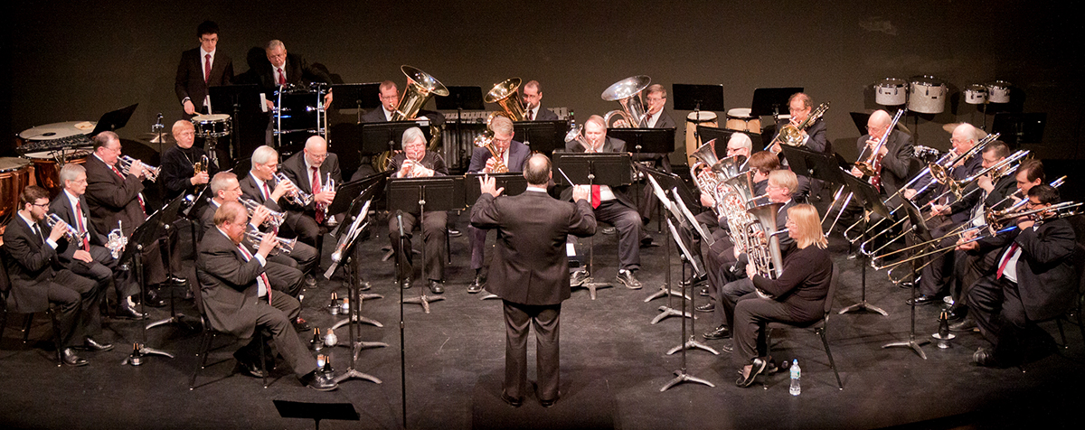 Buffalo Silver Band performs at the Jane Mallett Theatre