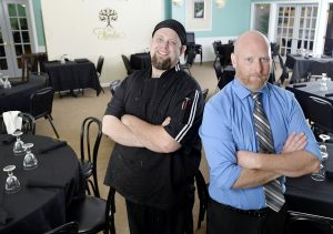 Owner and chef Burke Lindquist and his brother, front of house manager Josh Lindquist, opened La Familia for business June 3.  The restaurant is located in the lower level of the St. Elmo.