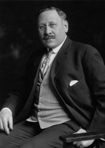 Portrait of Julius Rosenwald, signed by Rosenwald on February 15, 1912. (Photo by Chicago History Museum/Getty Images)