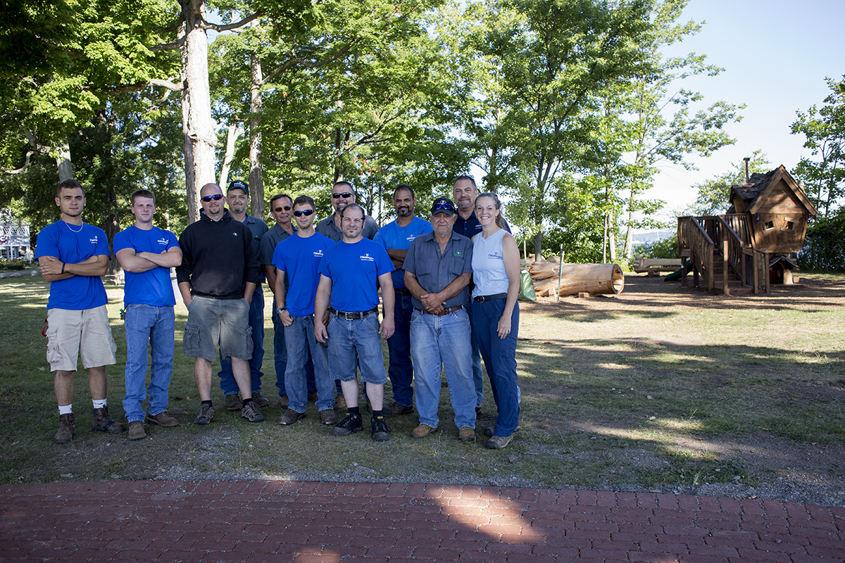 From left, Ricky Eddy, Martin Ross, Andrew Stroth, Kevin Dave Stimson, Justin Ernewin, Chris Majewski, Druex Dominick, Miguel Berrios, Chuck Rugg, Jack Munella pose for a picture July 21, 2016 in Miller Park. Photo by Eslah Attar