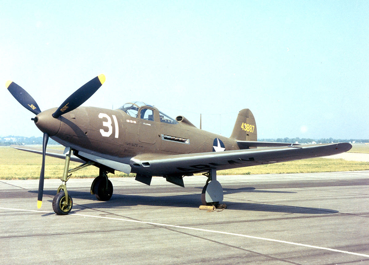 DAYTON, Ohio -- Bell P-39Q Airacobra at the National Museum of the United States Air Force. (U.S. Air Force photo)