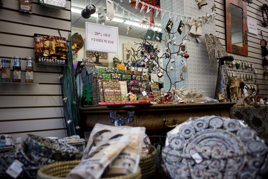 Chautauqua Fair Trading Company is having a 20% off sale for the rest of the week in the Colannade. The store is adding more local products and incorporating cultures from around the world. Phot by Eslah Attar