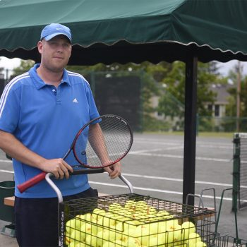 Director of the Tennis Center James Getty