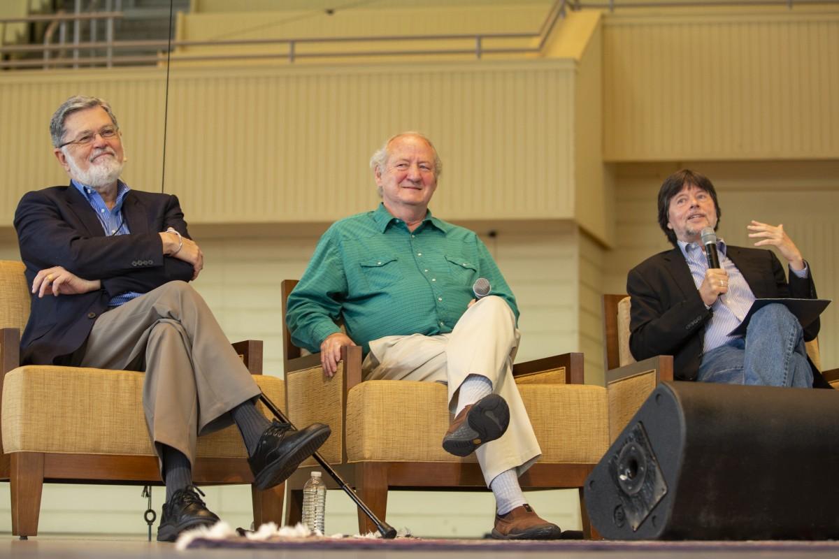 Ken Burns, Dayton Duncan, Geoffrey C  Ward discuss