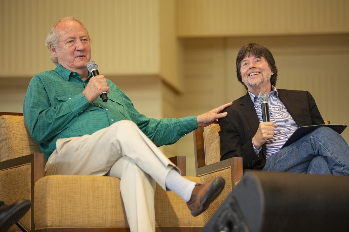 Ken Burns, Dayton Duncan, Geoffrey C  Ward discuss