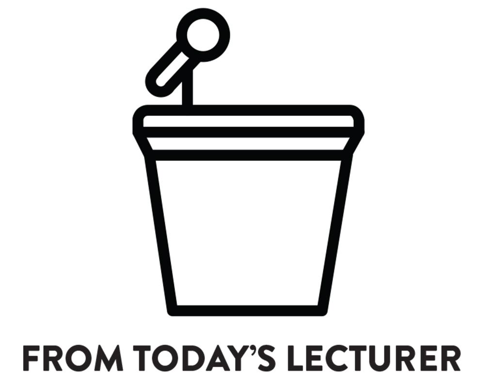 Lectureguest column