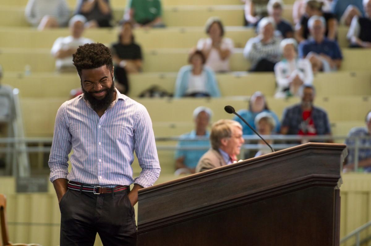 Joshua Bennett Shares Power of Spoken Word Through