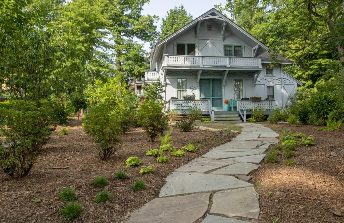 Shipman Gardens At Miller Edison Cottage Replanted According To