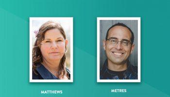 Charlotte Matthews and Philip Metres