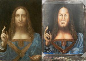 """Leonardo da Vinci's """"Salvator Mundi"""