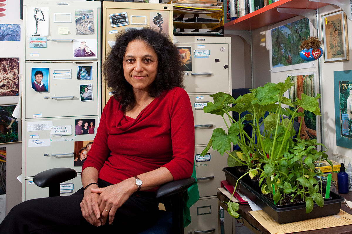 Nalini Nadkarni, co-founder of the Sustainable Prisons Project.