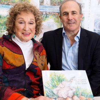 Nancy Patz and Stuart Sheer